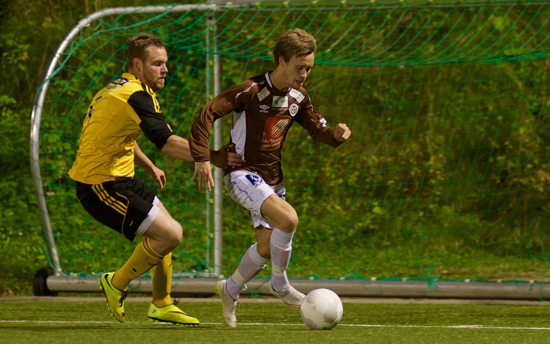 Kim-André Råde i aksjon mot Stålkam i fjor. Nå venter Bodø/Glimt i cupen.