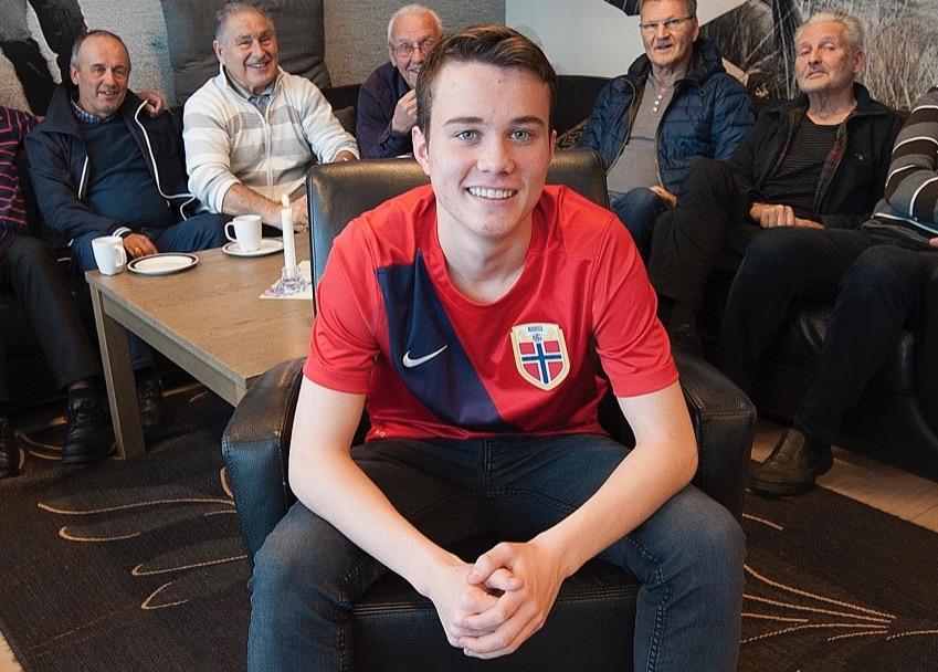 Bred Frøysa debuterte for G15-landslaget i fjor. Nå er han klar for G16-landslaget.