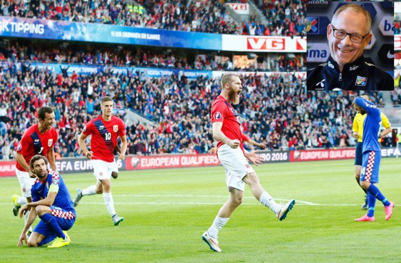 Lars Lagerbäck skal lede Norge for første gang på hjemmebane, i VM-kvalik mot Tsjekkia den 10. juni. Og til den kampen kan du vinne VIP-billett.